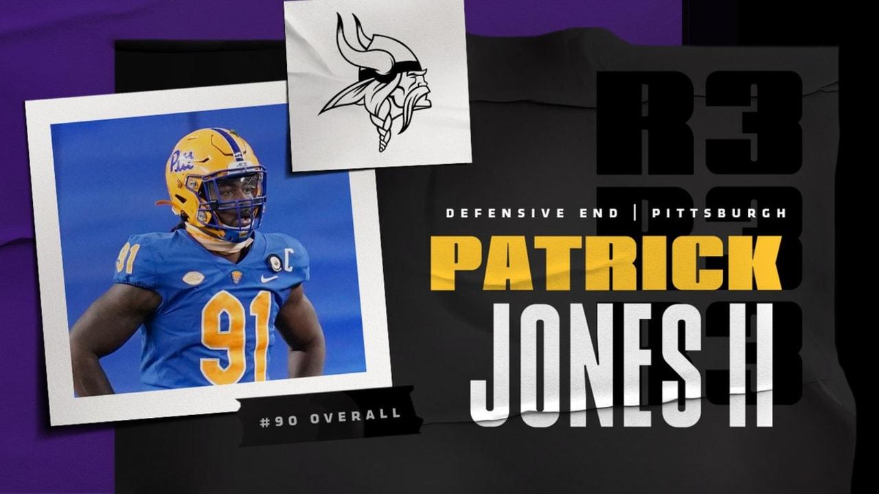 DE Patrick Jones II, Pittsburgh, 90th Overall