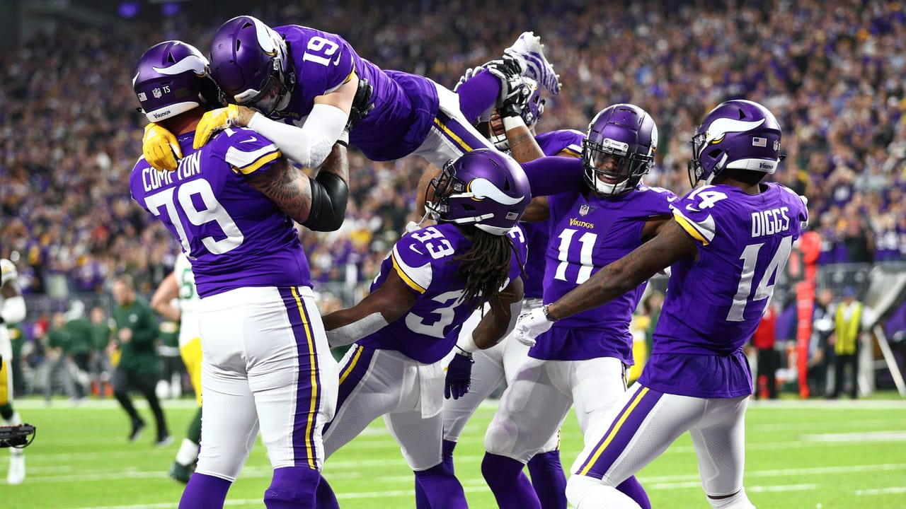 Vikings Unveil Limbo Celebration After Cook s 26-Yard Touchdown Catch c33364b44