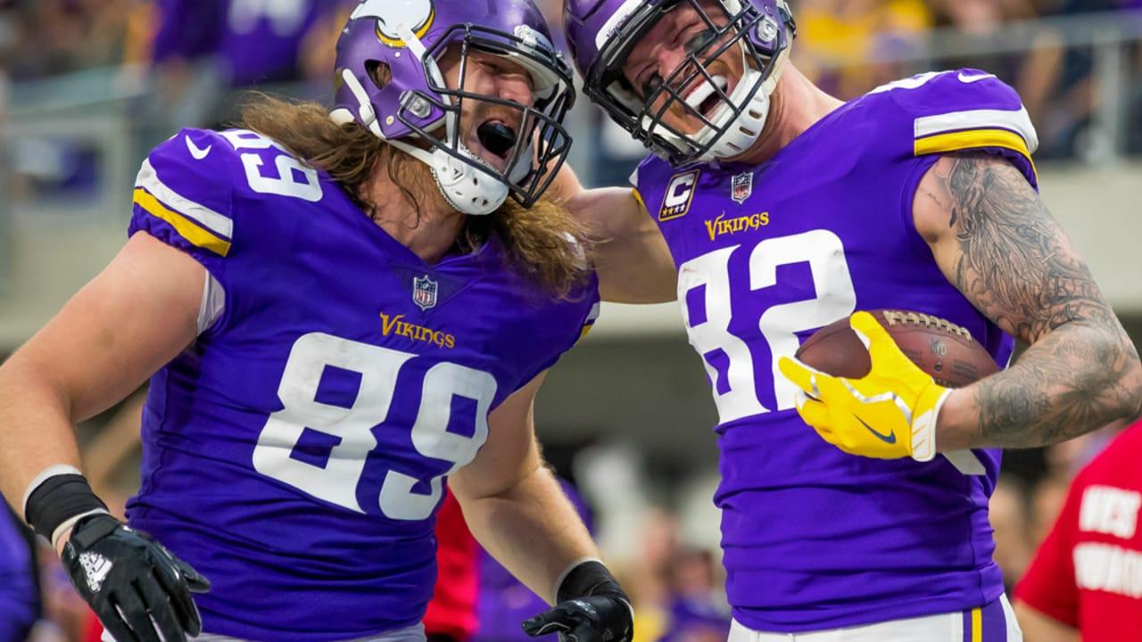 2017 Vikings Position Recap  Tight Ends 66cd332f7