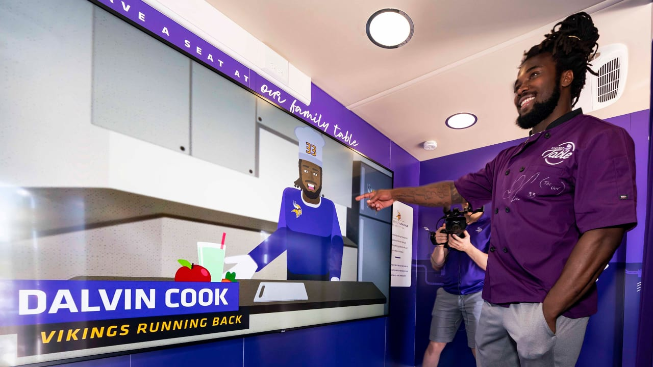 Chef Dalvin Cook Vikings Table Truly Means A Lot To Me