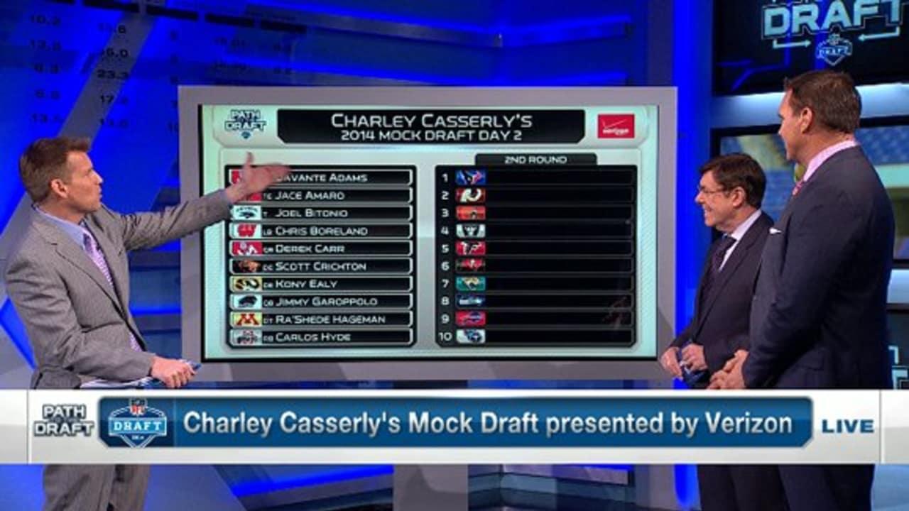 NFLN: Second Round Mock Draft