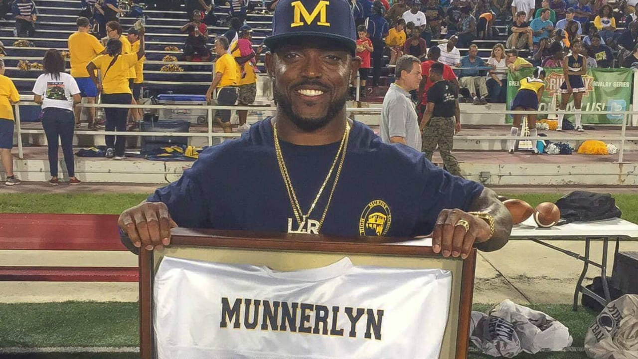Captain Munnerlyn Gives Back in Big Way at Jersey Retirement