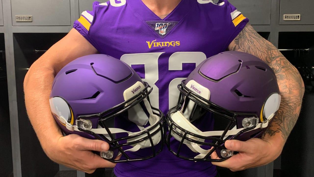 Vikings Tweak Helmet Color