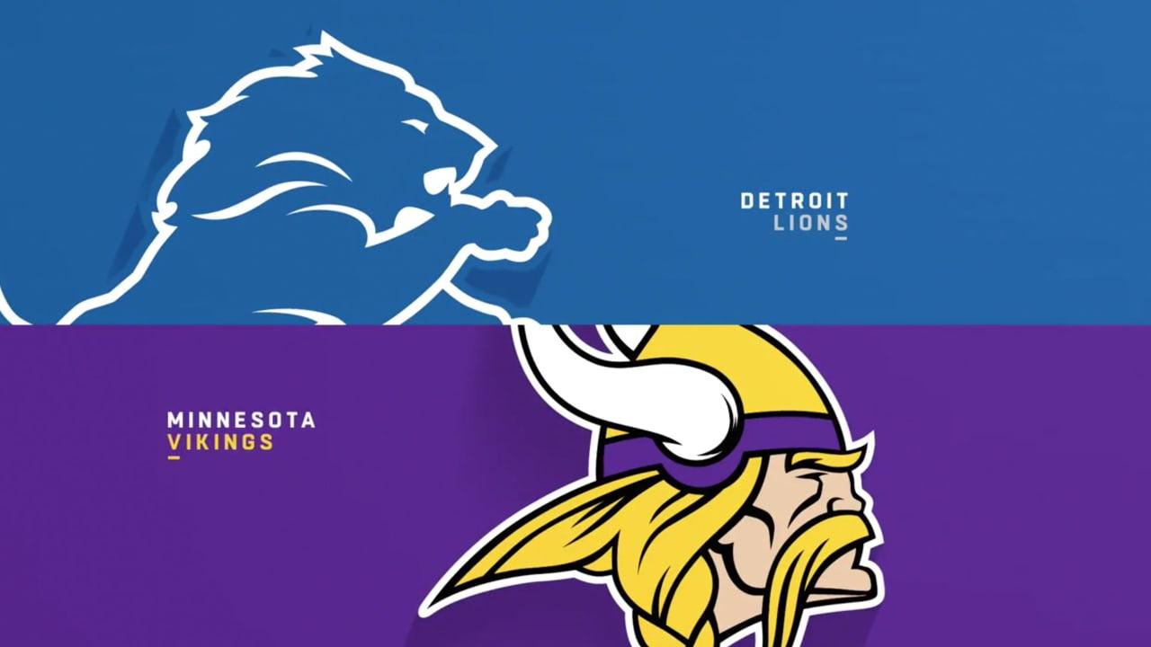 Full Highlights: Vikings 24, Lions 9