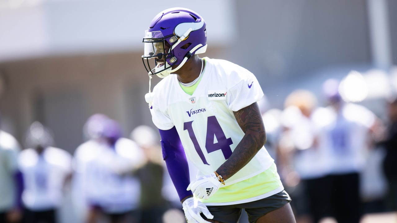 new styles 99eb0 66617 3 Observations from Final Minicamp Practice: Cousins, Diggs ...