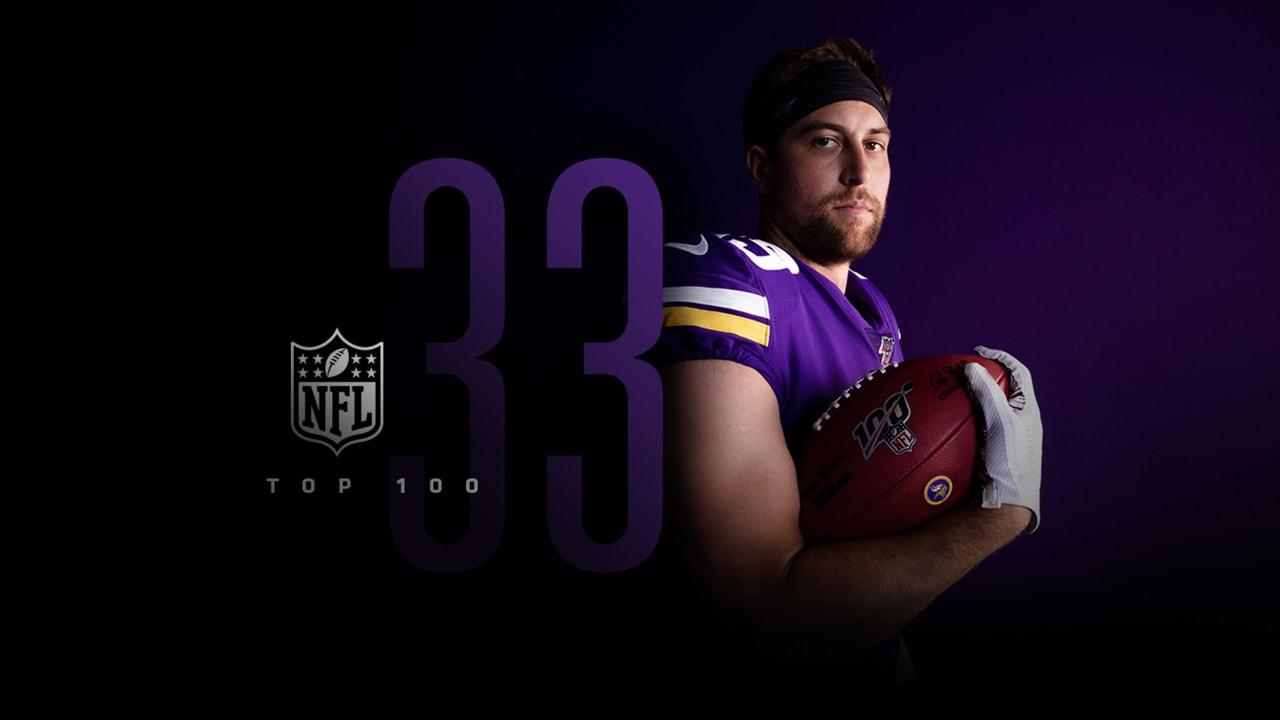 best website c224c 832e5 Adam Thielen Lands at No. 33 on NFL's Top 100 List