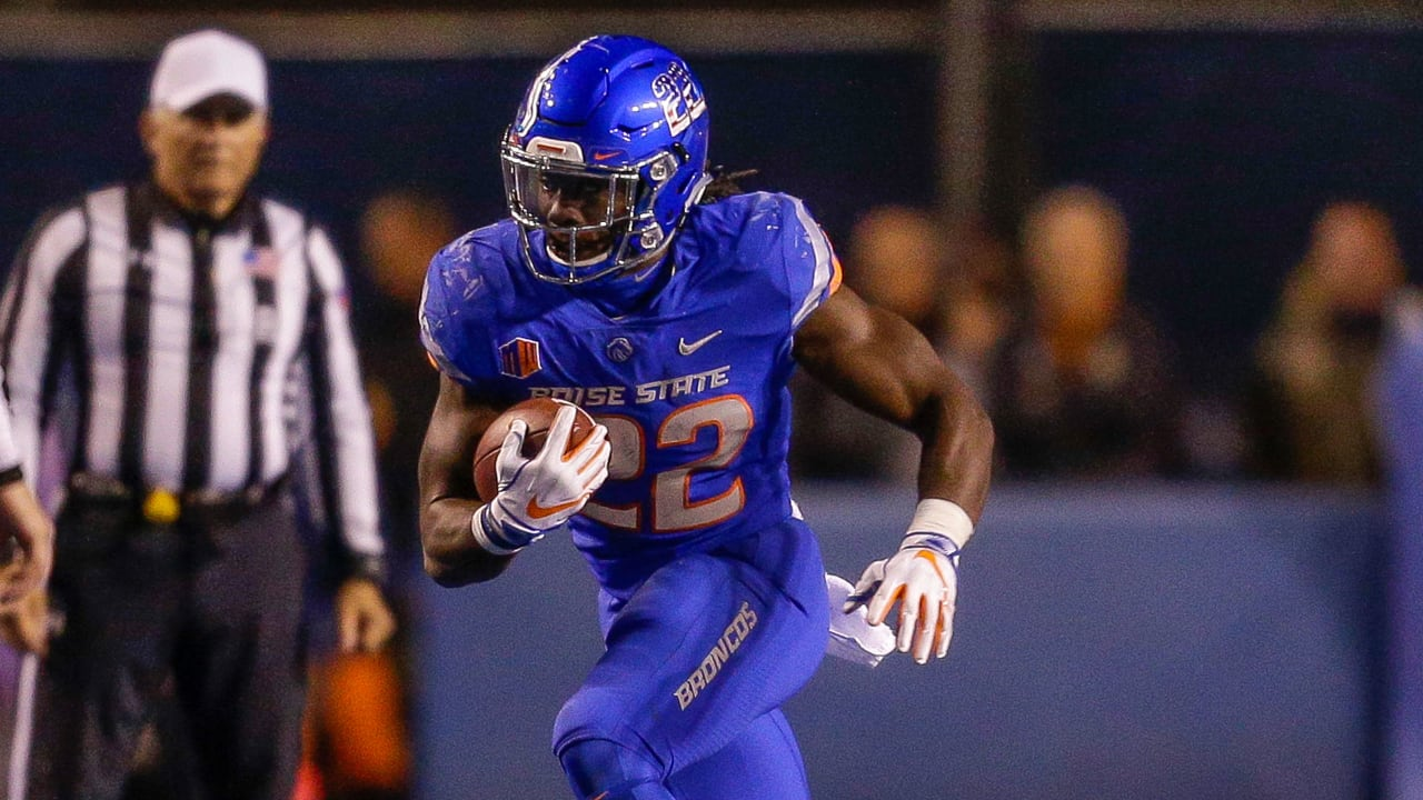 separation shoes db469 87963 Vikings Draft Boise State RB Alexander Mattison in 3rd Round ...