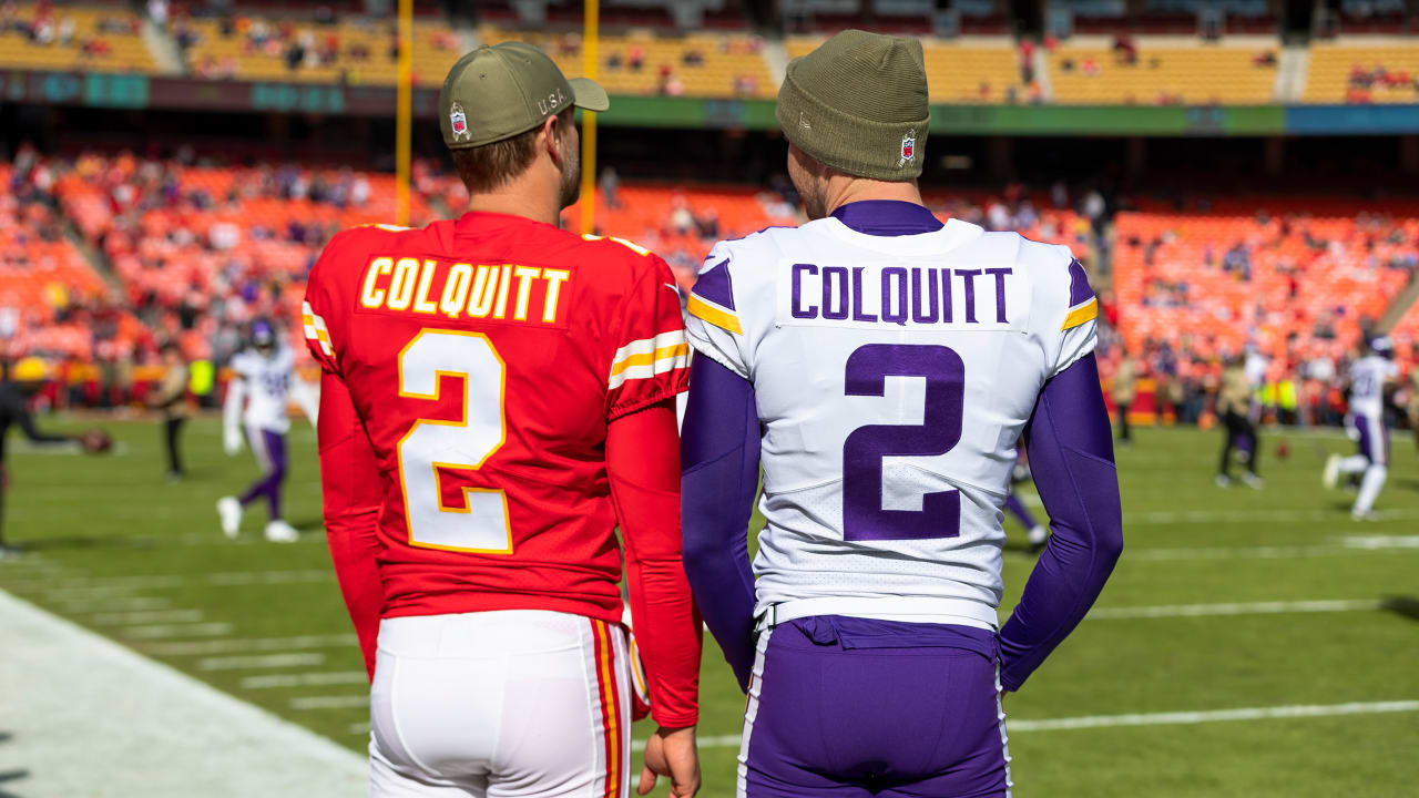 Britton Colquitt, Brother & Father are NFL's 1st Player Trio with ...