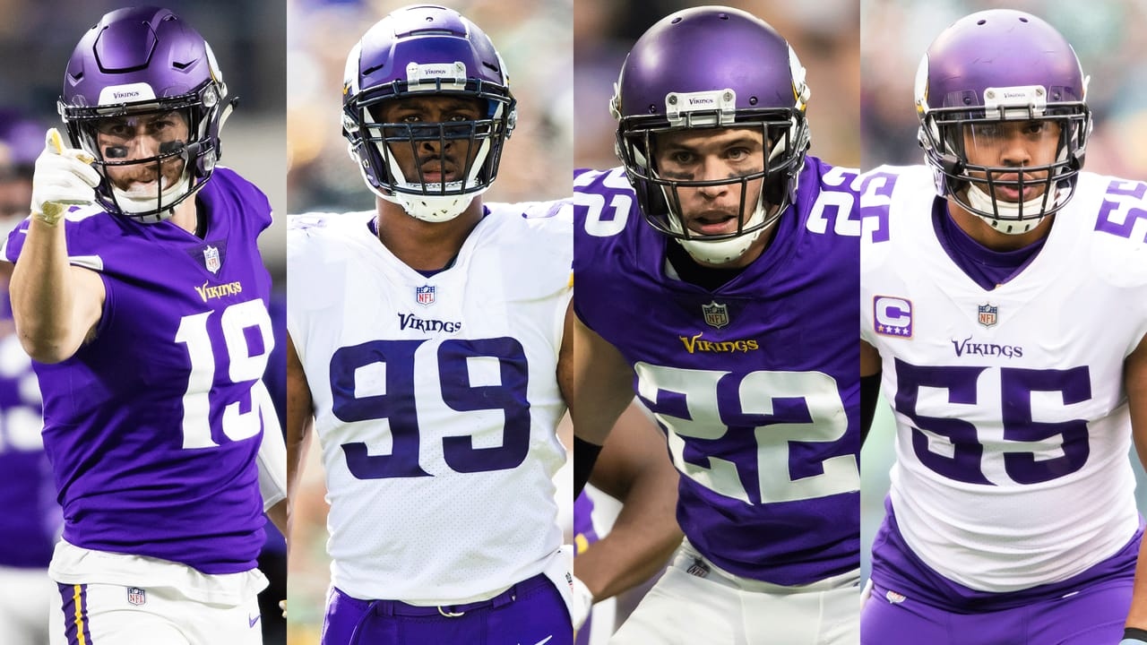 Highlights of the 2019 Vikings Pro Bowl Players 3f9a54ffb