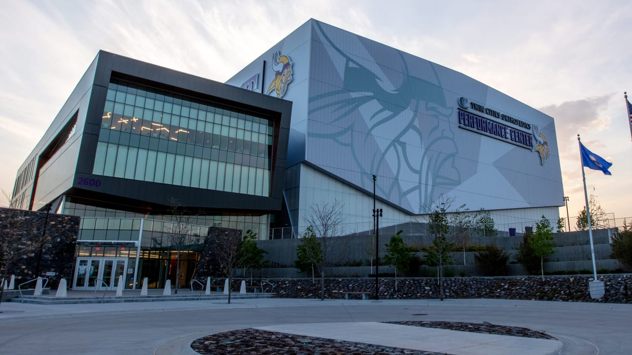 Vikings Host Vaccination Site at TCO Performance Center