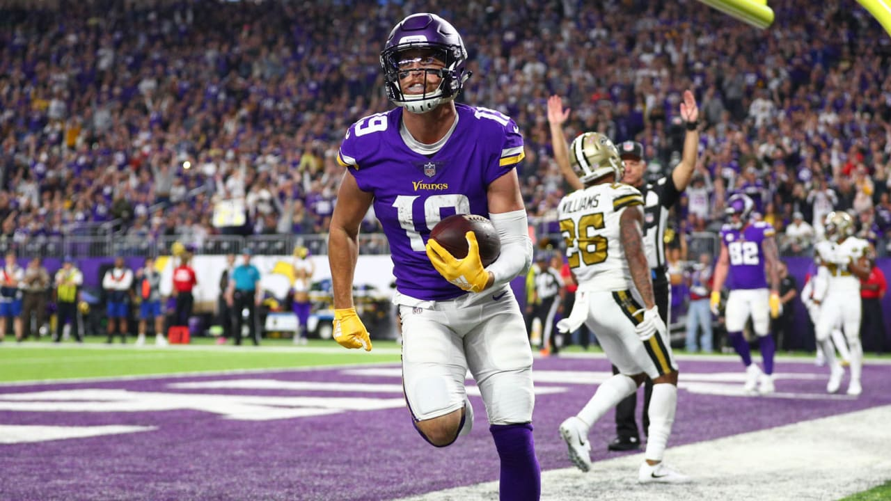 Lunchbreak  Adam Thielen On Pace for Historic Season with Vikings 6b64057b8