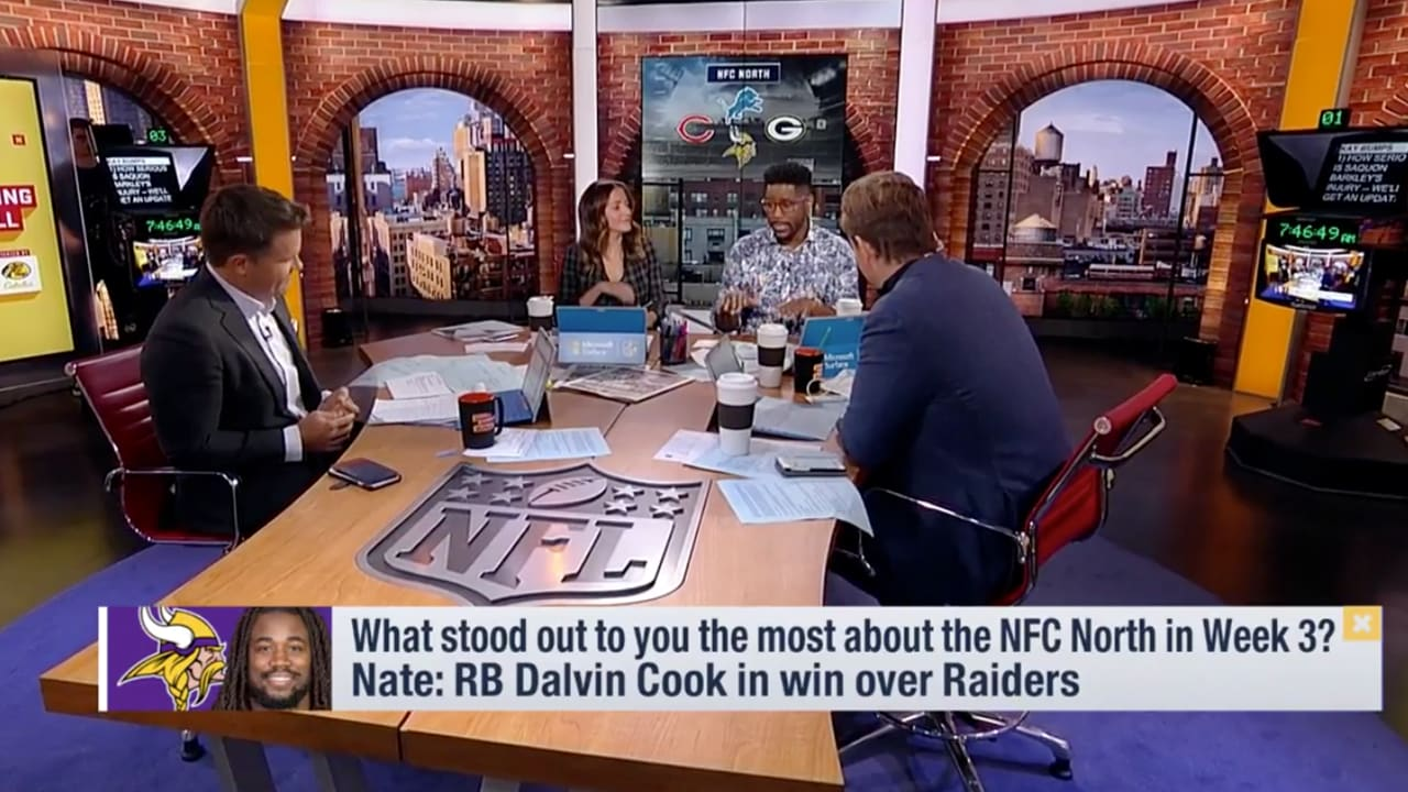 Gmfb Biggest Nfc North Storylines From Week 3