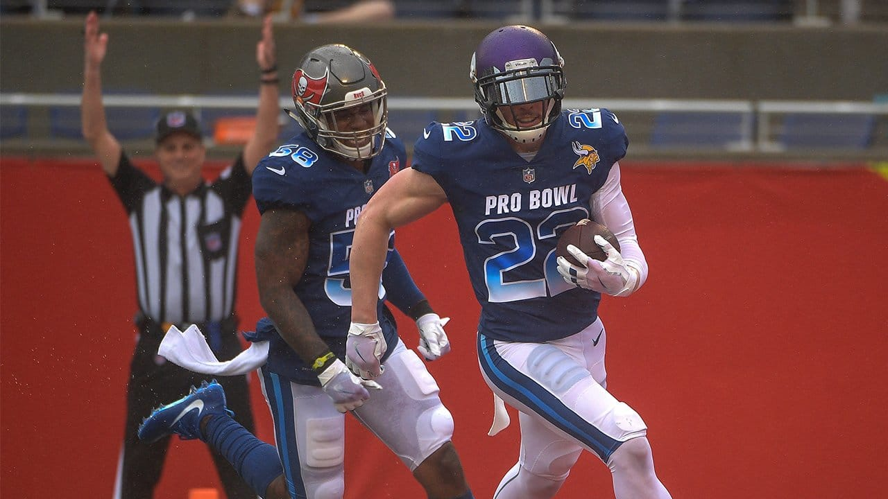 wholesale dealer d45c8 b56c4 Vikings Highlights From The 2018 Pro Bowl