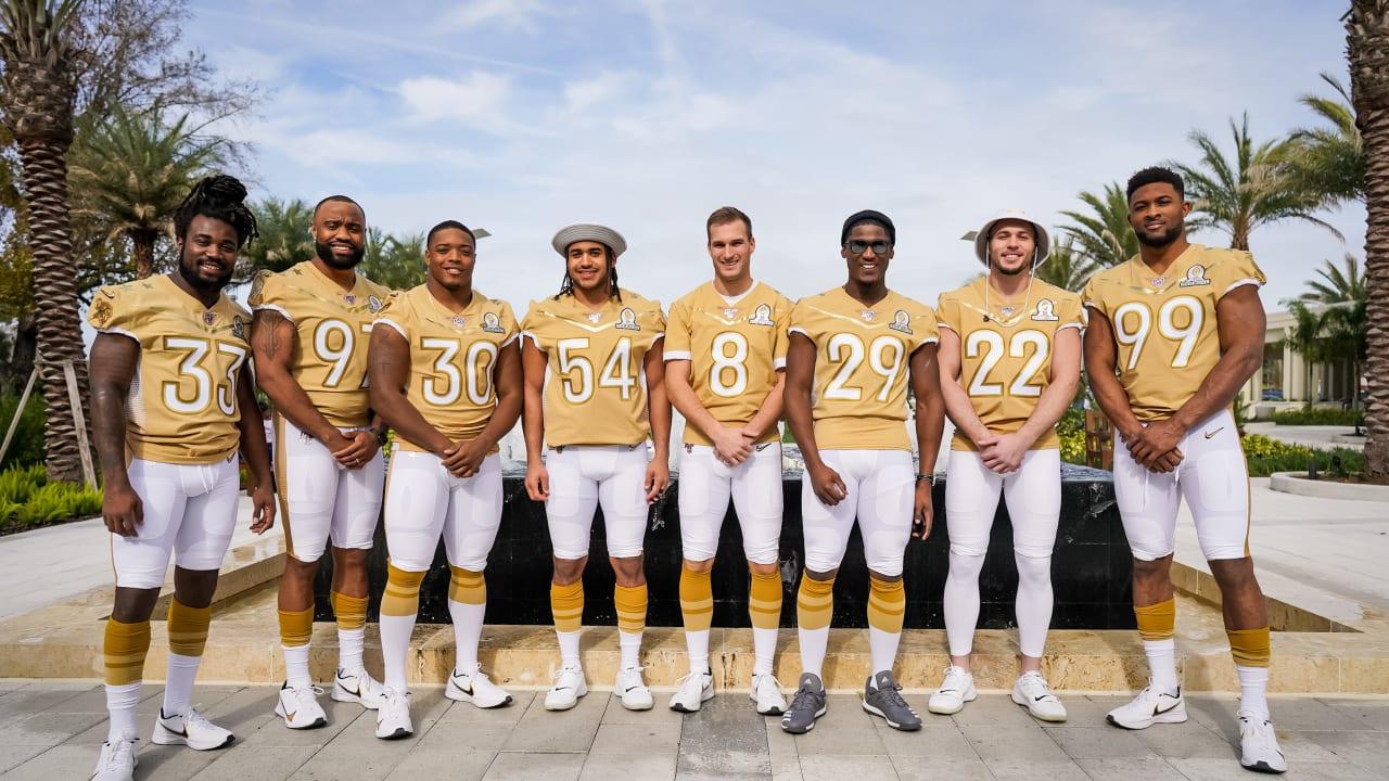 Cook, Ham & Kendricks Basking in Experiences at 1st Career Pro Bowl