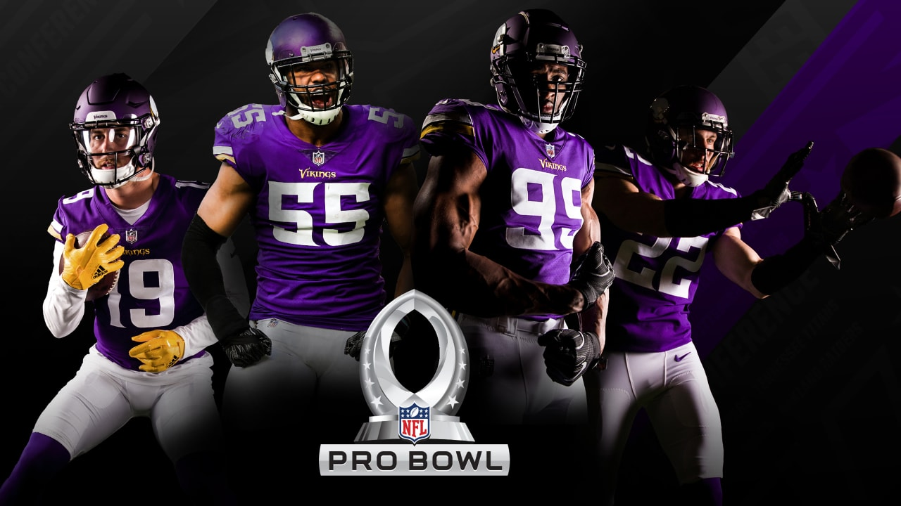 4 Vikings Selected To 2019 Pro Bowl