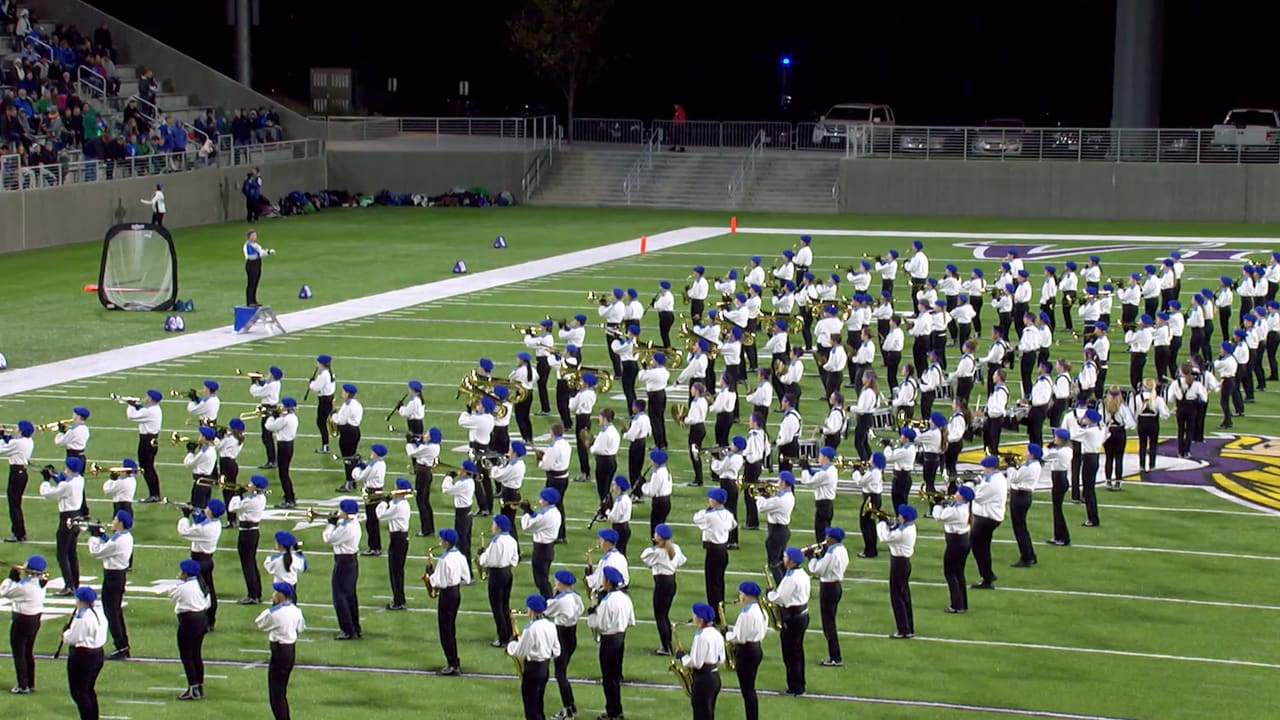 Eagan High School Marching Band Performs at TCO Stadium