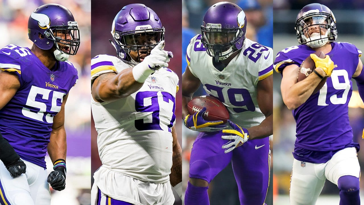 new style b252c 56f46 Highlights of the 2018 Vikings Pro Bowlers