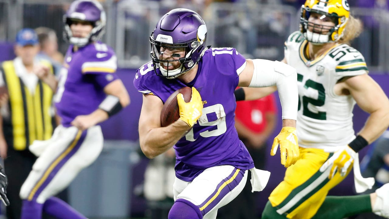 Every Catch From Adam Thielen s Big Night vs. Green Bay 3bb32fc77