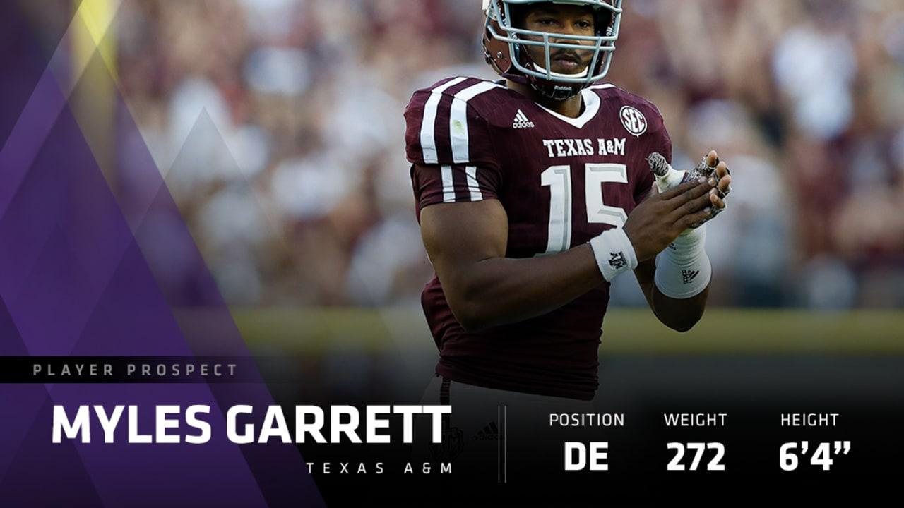 Prospect Profile Texas A&M DE Myles Garrett