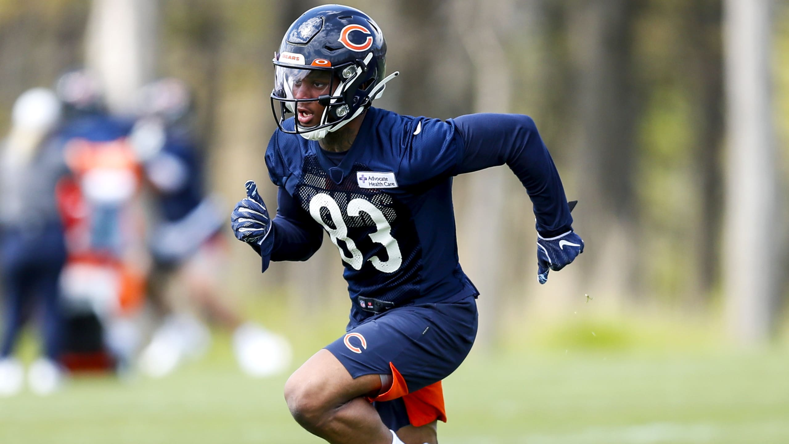 Dazz Newsome hungry to earn job as Chicago Bears rookie