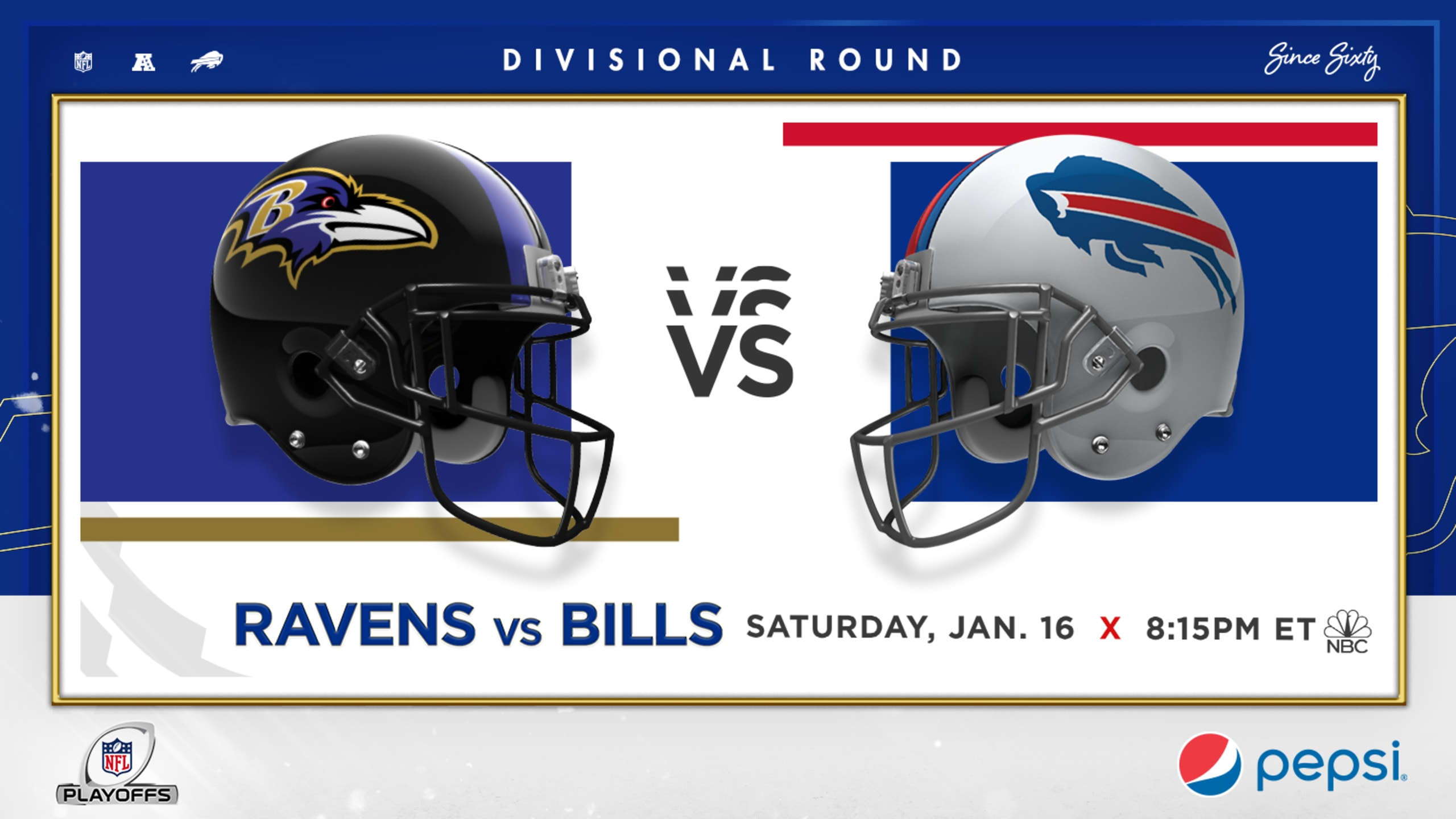 Bills divisional playoff game set for 8:15 pm on Saturday night