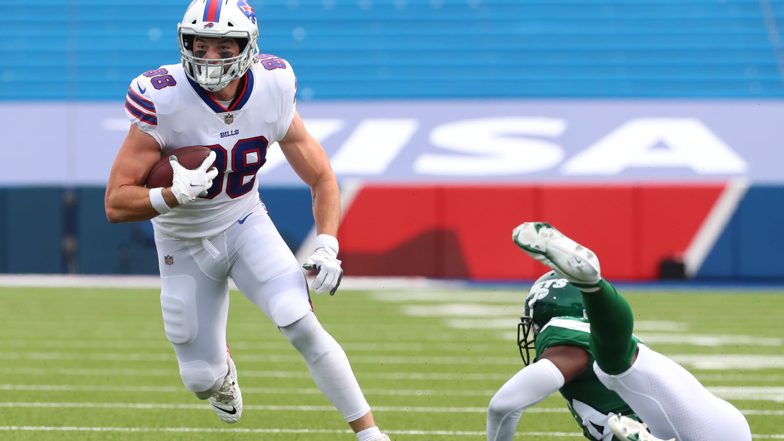 Bills place four players on the Reserve/COVID-19 list; four players elevated from practice squad