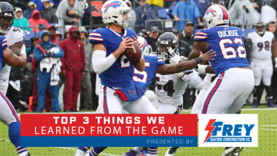 Top 3 Things We Learned From Bills Ravens