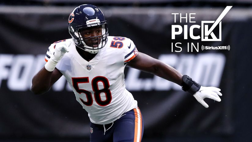 The Pick Is In Chicago Bears Vs New Orleans Saints 2020 Week 8 Game
