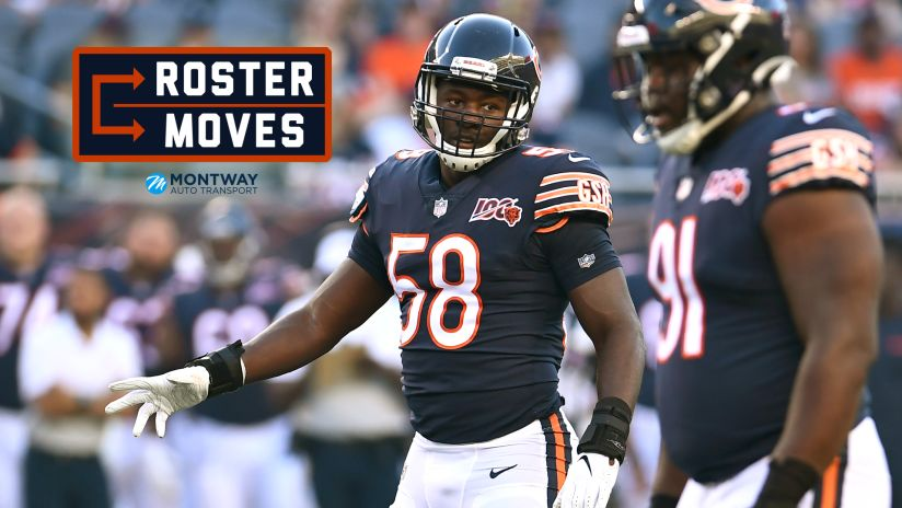 watch 17094 1c114 Chicago Bears announce 53-man roster