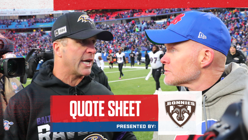 Sean Mcdermott Believes The Team Will Learn From This Loss To Baltimore