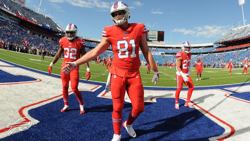 Tyler Kroft close to being a boost for Bills passing game