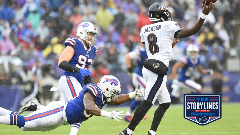 Josh Allen Lamar Jackson Are Just Two Of The Top Storylines For Sunday S Bills Ravens Game
