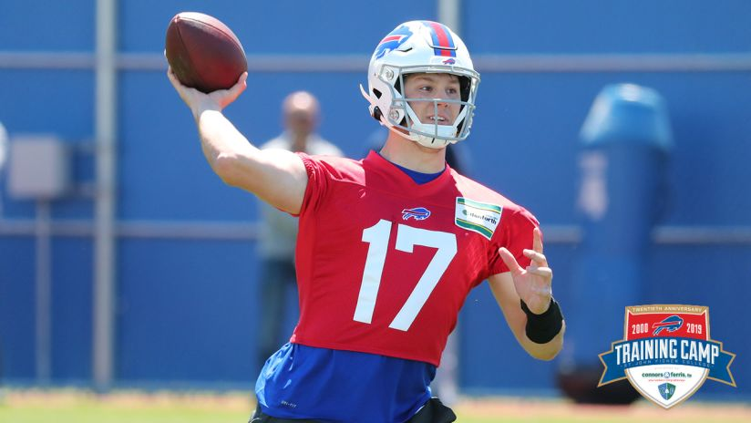 separation shoes 30039 776de Camp Countdown: No. 2 - Three reasons why Josh Allen's game ...
