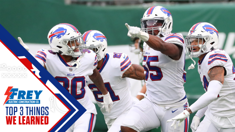 Top 3 Things We Learned From Bills At Jets Week 7
