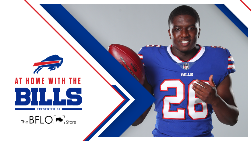 At Home with the Bills | Devin Singletary