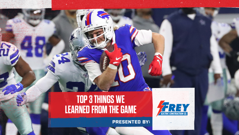 Sean Mcdermott Cole Beasley And The Bills Defensive Line Put Together Standout Performances In Thursday S Win