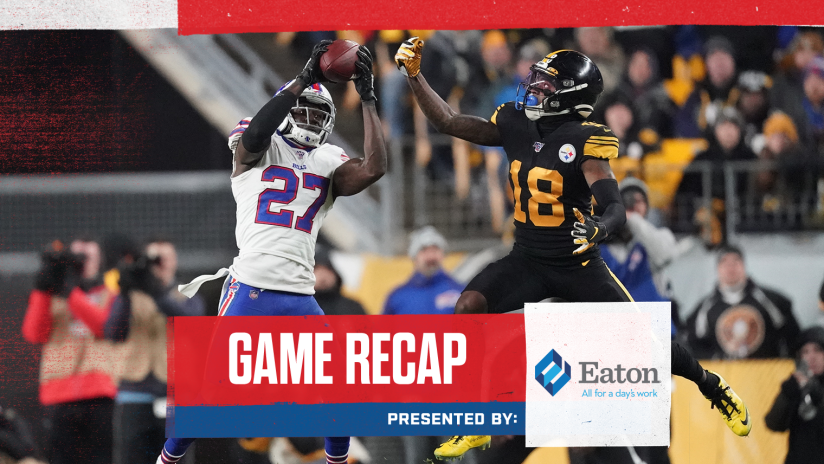 Game Recap Bills Clinch A Playoff Berth With Five Takeaways In Win Over Pittsburgh