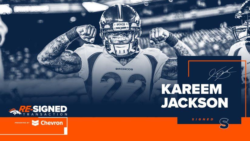Broncos sign S Kareem Jackson to 1-year deal