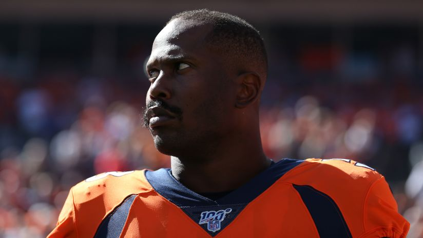 Olb Von Miller Tests Negative For Covid 19