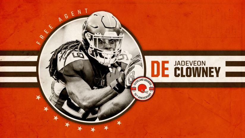 Browns sign 3-time Pro Bowl pass rusher Jadeveon Clowney