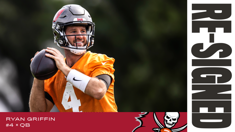 QB Ryan Griffin Signs with Tampa Bay, 2021 Free Agency