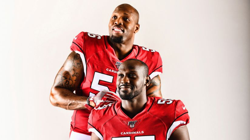 official photos 3e898 61a5c Chemistry Grows Between 'Sack Brothers' Terrell Suggs And ...