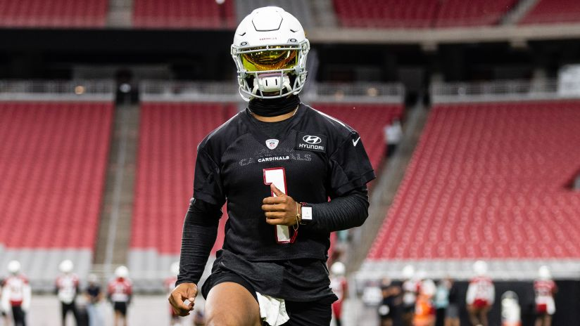 Kyler Murray Builds Body, Confidence Heading Into Year Two