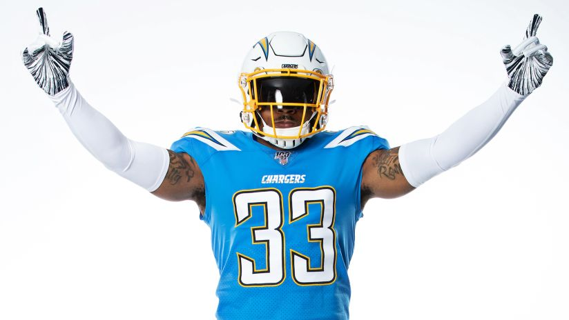 Iconic Powder Blues to Serve as Chargers' Primary Jersey in 2019