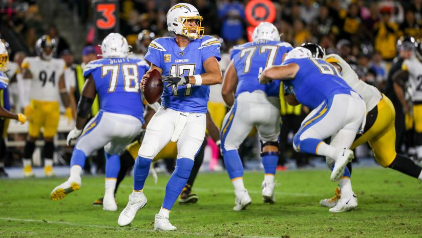 The Los Angeles Chargers Lost To The Pittsburgh Steelers At