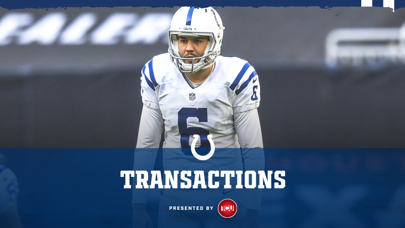 Indianapolis Colts release punter Ryan Allen from practice squad