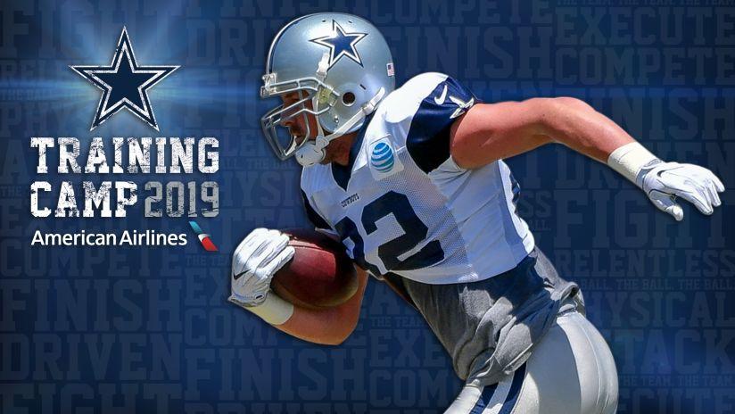 Dallas Cowboys Training Camp Schedule | 2019