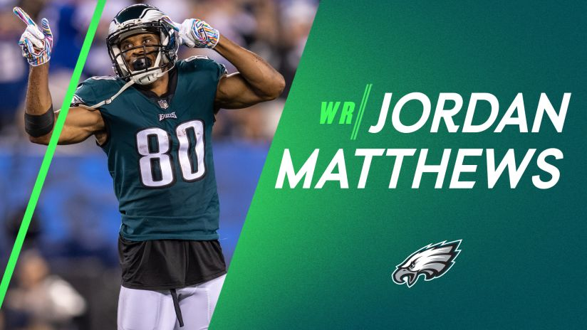 Eagles welcome back wide receiver Jordan Matthews for a third stint
