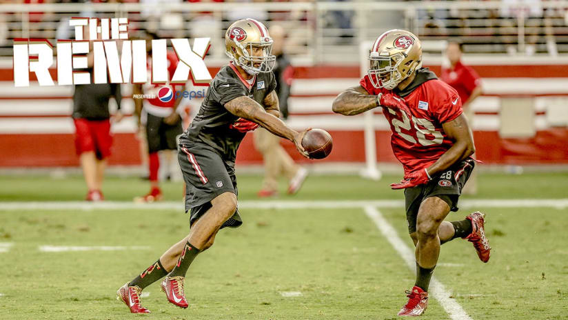 The remix week 1 of 49ers training camp m4hsunfo