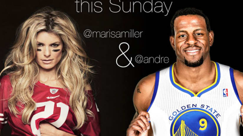 3f4663656 The San Francisco 49ers today announced supermodel actress Marisa Miller  and Golden State Warriors forward Andre Iguodala will participate in the  first-ever ...
